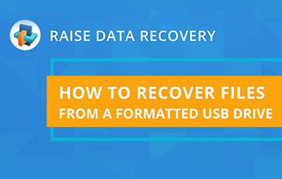 Recovering files from a USB drive